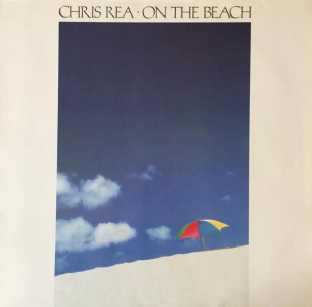Chris Rea ‎- On The Beach (LP) (VG-/VG-)